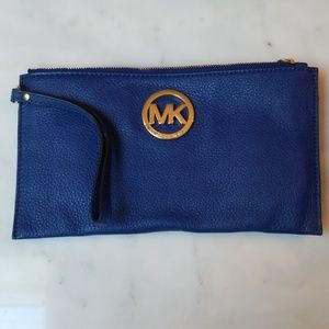 NWT MICHAEL Michael Kors Leather Clutch
